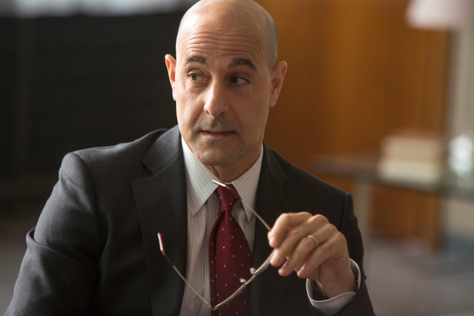 Stanley Tucci as James Boswell in