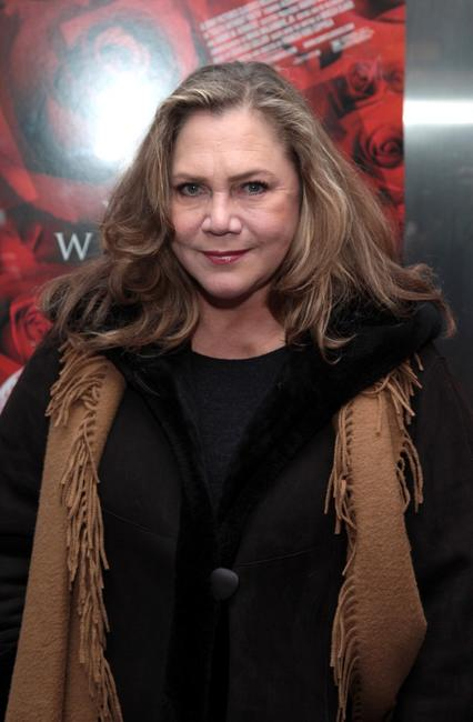 Kathleen Turner at the New York premiere of