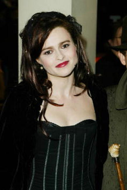 Helena Bonham Carter at the British Academy Film Awards in London.