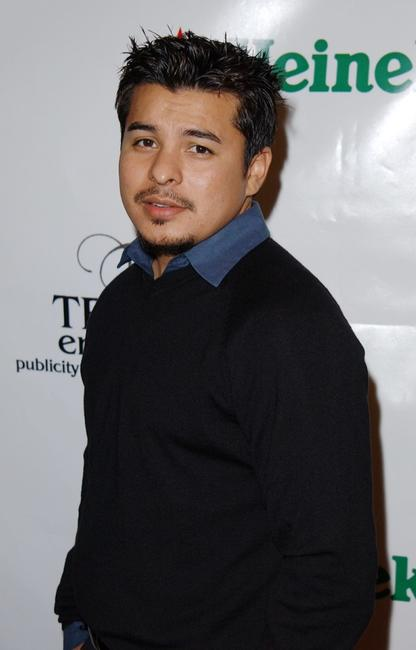 Jacob Vargas at the Urban Latino TV launch party.