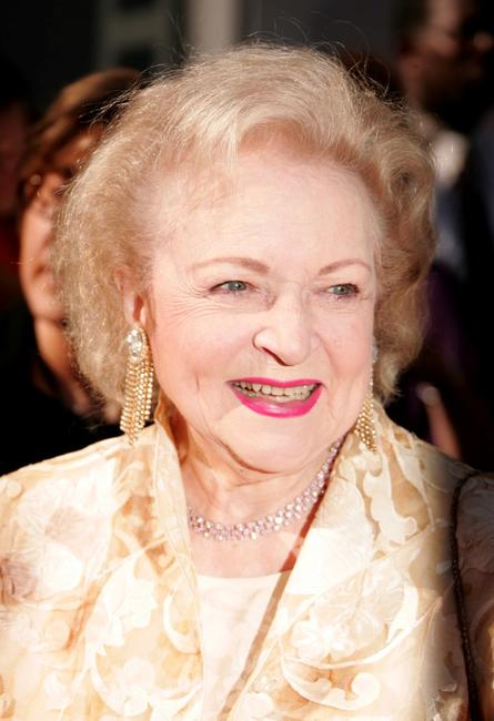 Betty White at the The 34th Annual Daytime Emmy Awards.