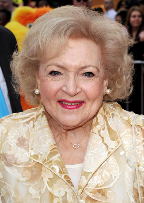 Betty White at California premiere of