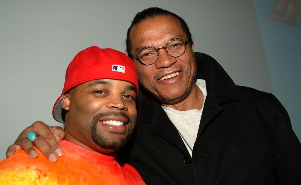 Billy Dee Williams and Krumping dancer Tommy 'The Clown' at the Tribeca Film Festival for