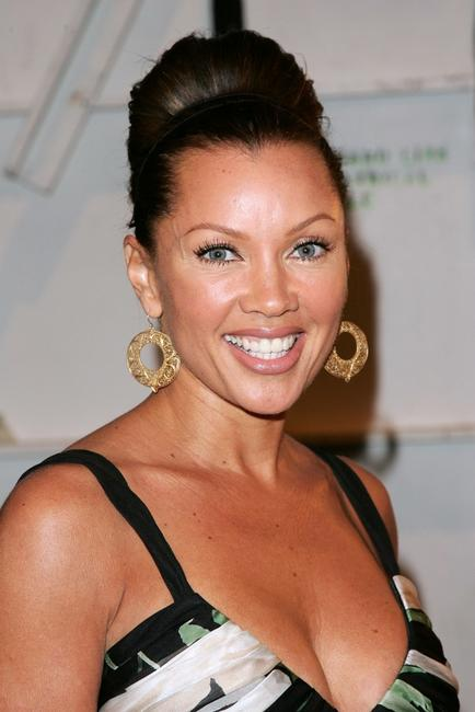 Vanessa L. Williams at the Carmen Marc Valvo Fall 2007 fashion show during Mercedes-Benz Fashion Week.