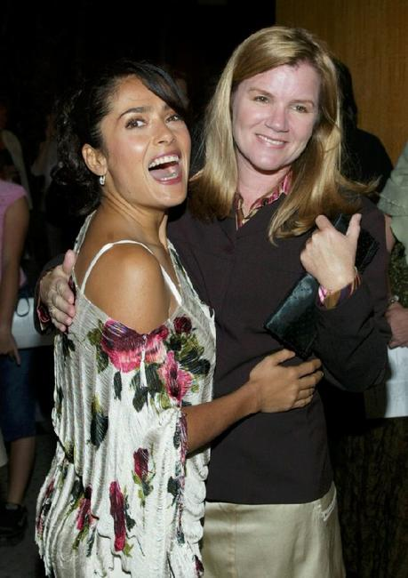 Mare Winningham and Salma Hayek at the Academy of Motion Picture Arts and Sciences for the film premiere of