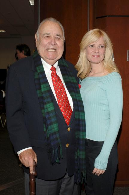 Jonathan Winters and Bonnie Hunt at the