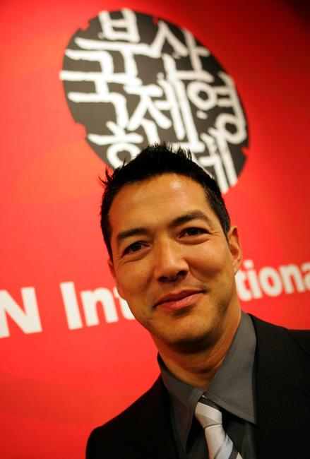 Russell Wong at the Opening party of 13th Pusan International Film Festival.