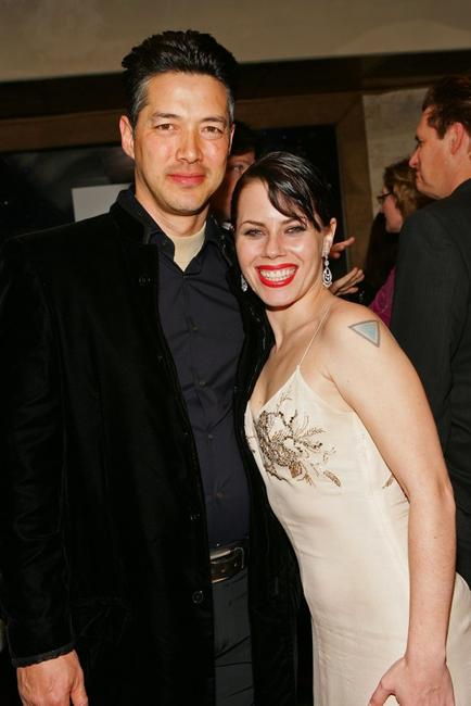 Russell Wong and Fairuza Balk at the Reel Lounge Gala Benefit For The Film Foundation.