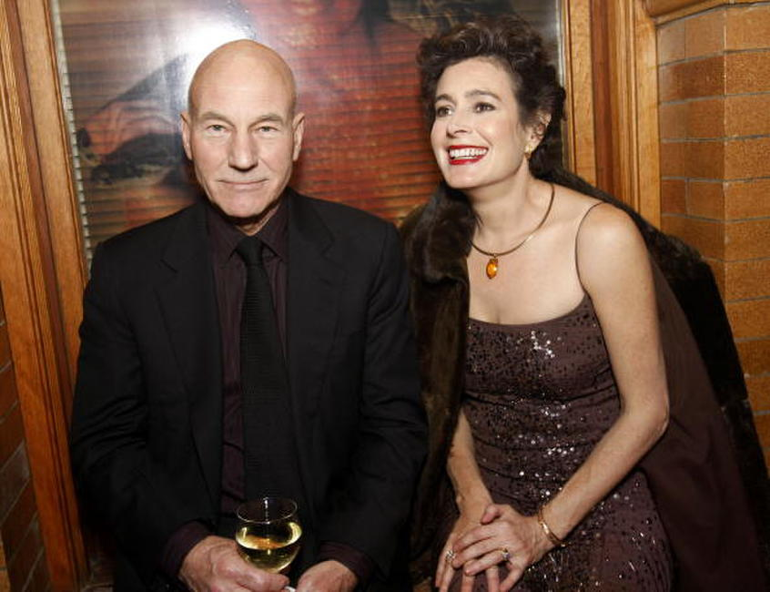 Sean Young and Patrick Stewart at the Jules Verne Adventure Film Fest and Bladerunner The Final Cut dvd release.