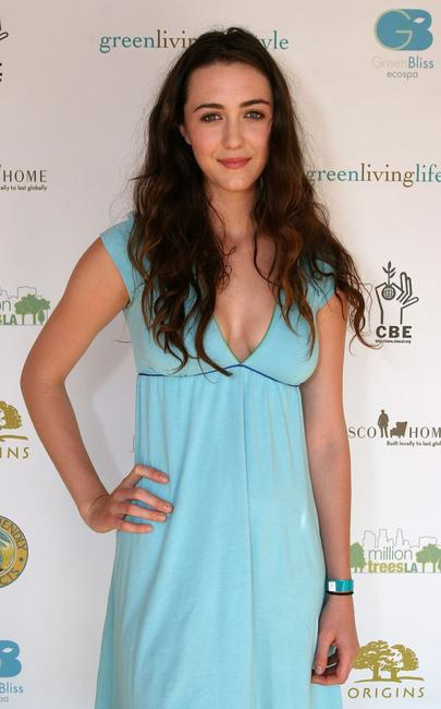 Madeline Zima at the green living lifestyle emmy lounge.