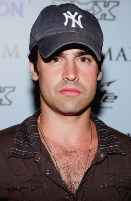 Jesse Bradford at the Maxim Magazine X-Games Party.