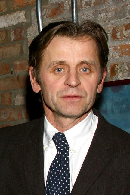 Mikhail Baryshnikov at the benefit performance for dancers responding to AIDS.