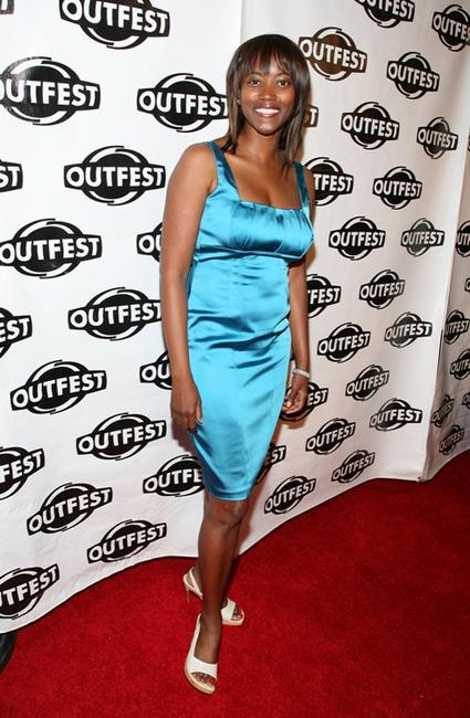 Erika Alexander at the 2009 Outfest opening night gala of