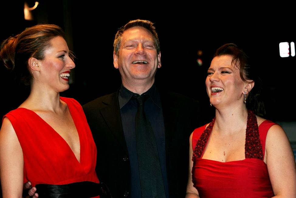 Kenneth Branagh, Amy Carson and Lyubov Petrova at the UK premiere of
