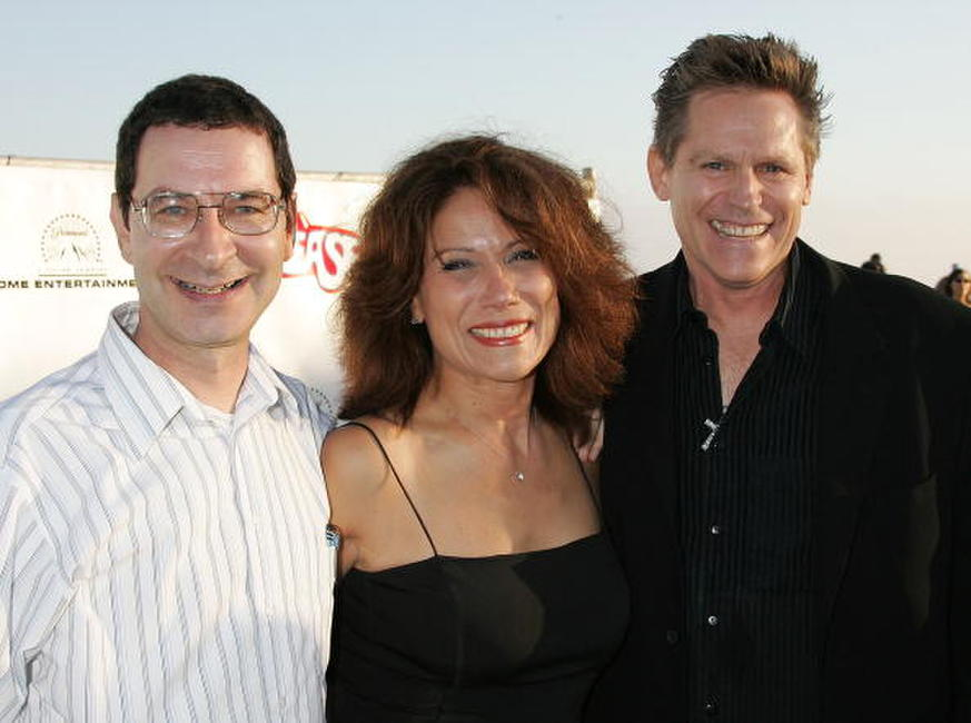 Eddie Deezen, Annette Cardona and Jeff Conaway at the Grease Rockin' Rydell Edition DVD Launch Event.