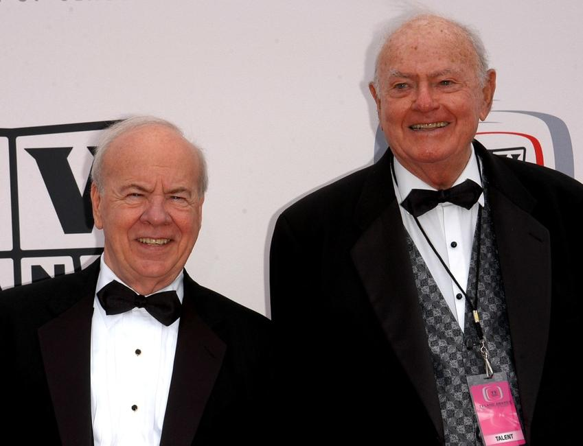 Tim Conway and Harvey Korman at the 2005 TV Land Awards.
