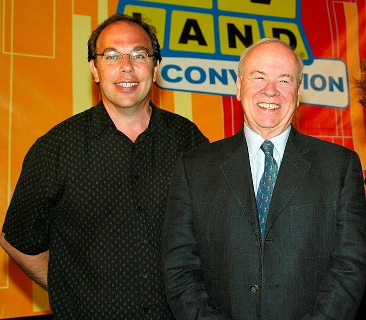Sal Maniaci and Tim Conway at the First Official TV Land Convention.