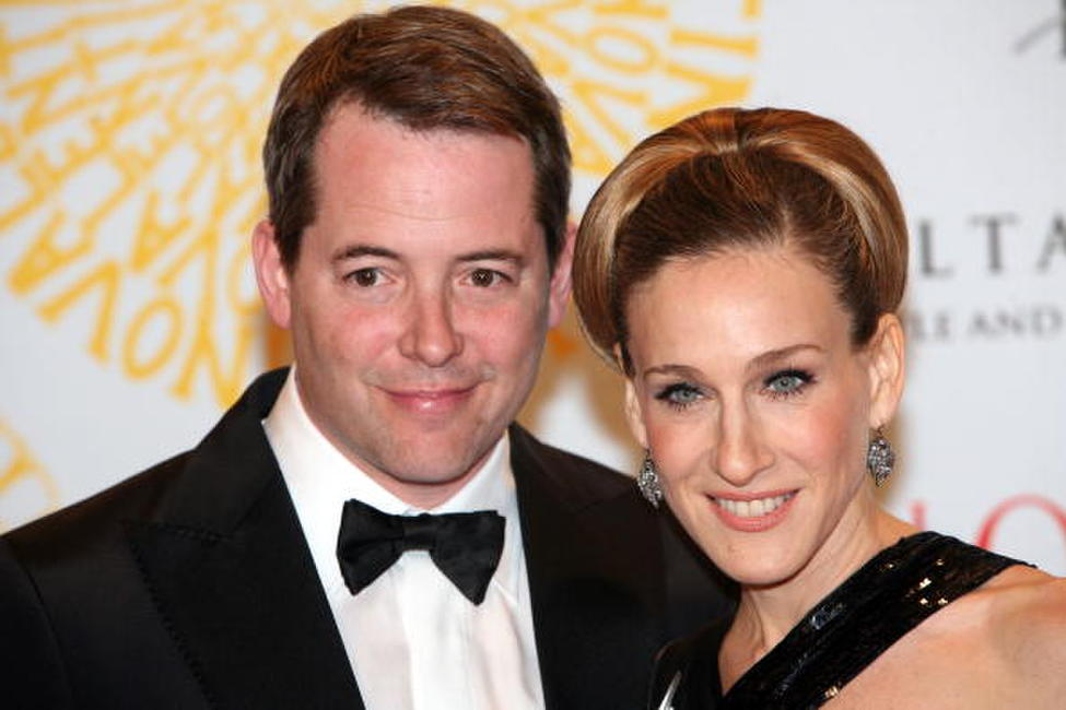 Sarah Jessica Parker and Matthew Broderick at the post haute couture show gala dinner and ball in Rome.