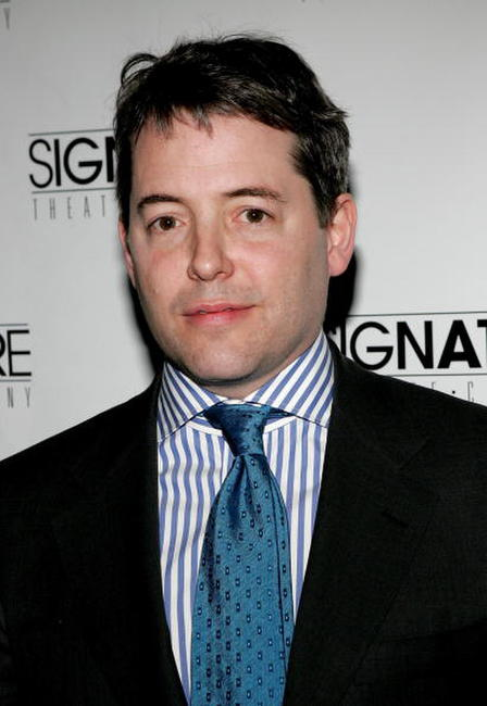 Matthew Broderick at Signature Theatre Company honors Horton Foote in New York City.