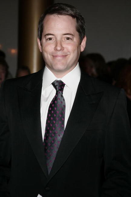 Matthew Broderick at the Kennedy Center's Ninth Annual Mark Twain Prize in Washington, DC.