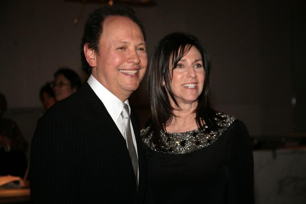Billy Crystal and Janice Crystal arrive at the Tenth Annual Mark Twain Prize Awards.