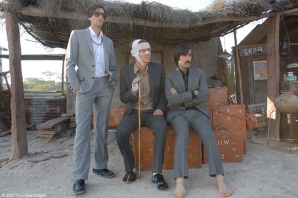 Adrien Brody, Owen Wilson and Jason Schwartzman in