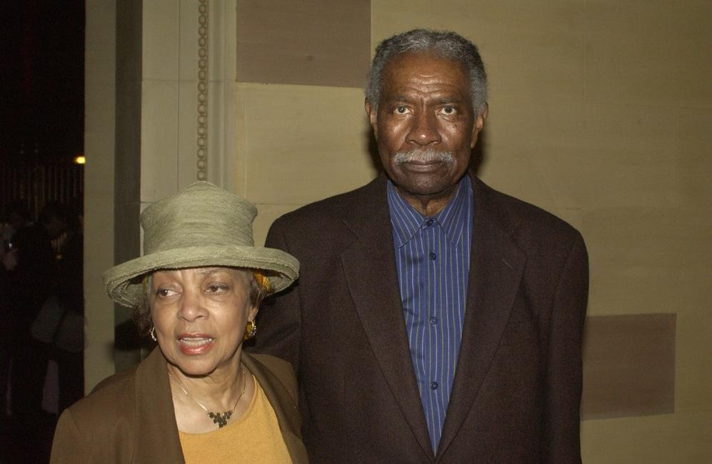 Ossie Davis and Ruby Dee at the after party for the opening night of