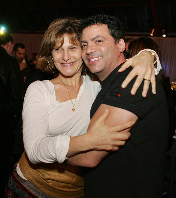 Amy Pascal and Michael De Luca at the after party of the premiere of