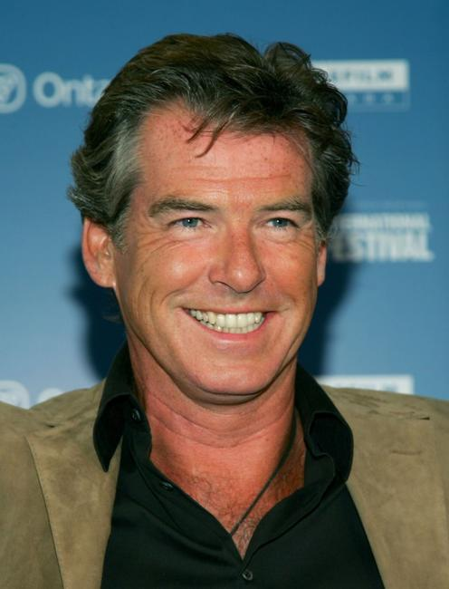 Pierce Brosnan at the Toronto International Film Festival.