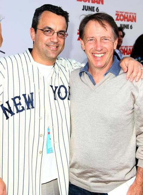 Producer Jack Giarraputo and Dennis Dugan at the premiere of
