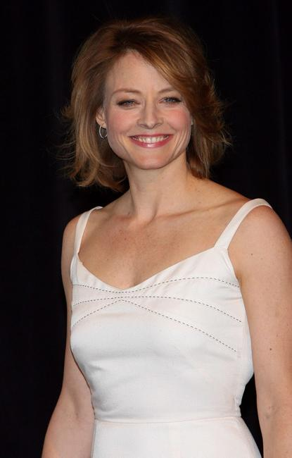 Jodie Foster at the ShoWest awards ceremony.