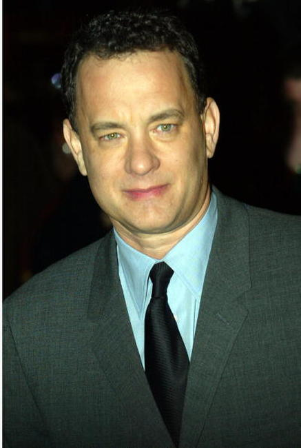 "Tom Hanks at the premiere of ""Catch Me If You Can"