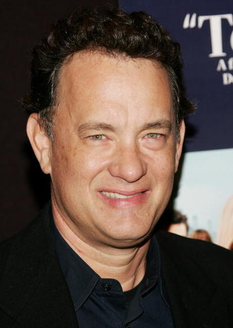 "Tom Hanks at a screening of ""Starter for Ten"" in New York City."