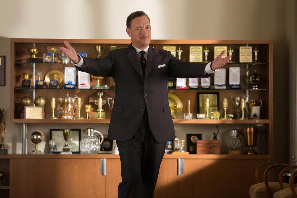 Tom Hanks as Walt Disney in