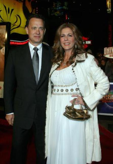 Tom Hanks and Rita Wilson at the Los Angeles premiere of