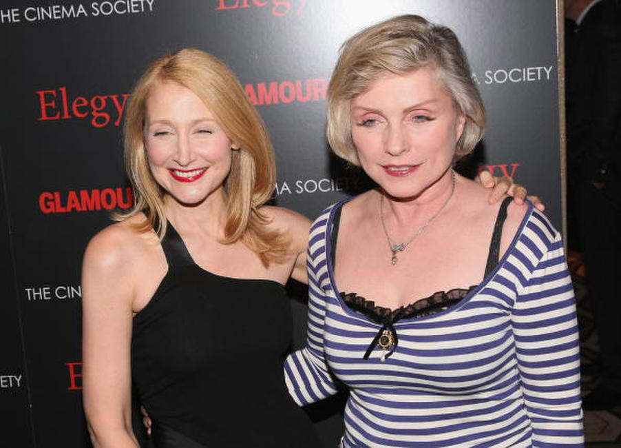 Patricia Clarkson and Deborah Harry at the screening of