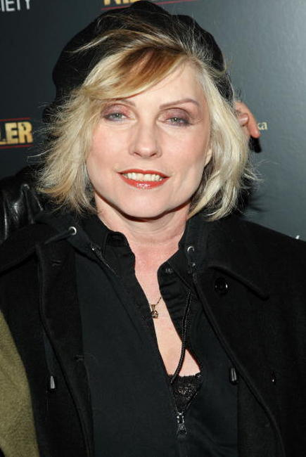 Deborah Harry at the special screening of