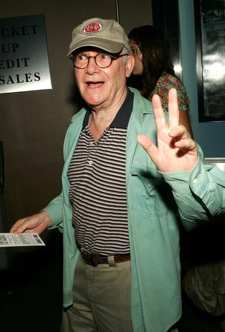 Buck Henry at the premiere of