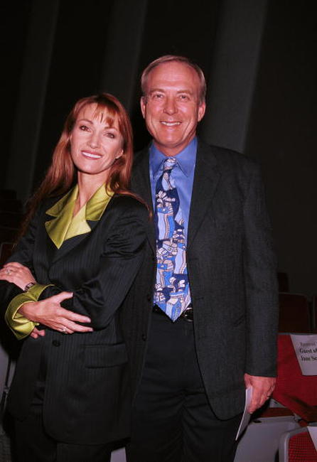 James Keach and Jane Seymour at the Loyola Marymount''s School of Film And Television inaugural film festival.
