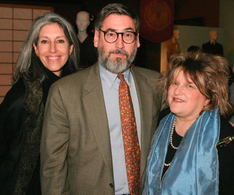 Deborah Nadoolman Landis, John Landis and Julie Weiss at the