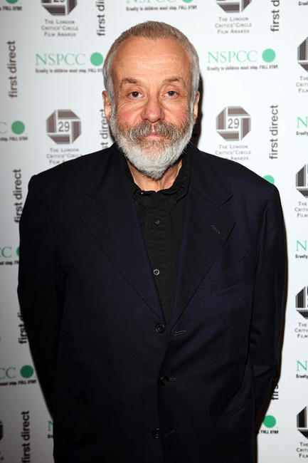 Mike Leigh at the London Critics' Circle Film Awards 2009.