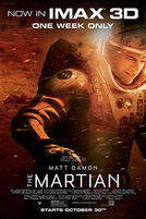The Martian: An IMAX 3D Experience showtimes and tickets