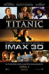 Titanic: An IMAX 3D Experience showtimes and tickets