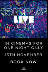 Coldplay Live 2012 showtimes and tickets