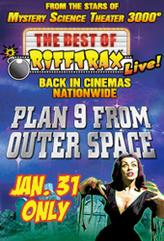 The Best of RiffTrax Live: Plan 9 From Outer Space showtimes and tickets