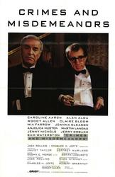 Crimes and Misdemeanors / Ed Wood showtimes and tickets