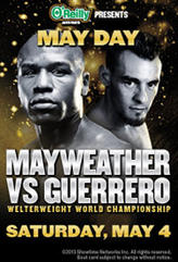May Day: Mayweather vs Guerrero showtimes and tickets