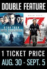Star Trek: Into Darkness / World War Z  showtimes and tickets