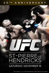 UFC 167: St-Pierre vs. Hendricks showtimes and tickets