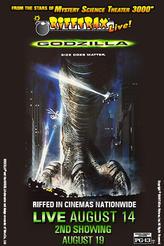 Rifftrax Live: Godzilla showtimes and tickets